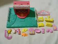 VINTAGE G1 MY LITTLE PONY PETITE PONIES MANE DELIGHTS BEAUTY SHOPPE PLAYSET 1989