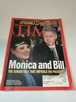 Time Magazine February 2, 1998 - Special Report - Monica Lewinsky, Bill Clinton