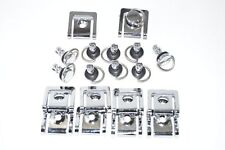 Fairing Quick Release Fasteners 17mm D-RING ¼ TURN w/ Clip Fiberglass Rivet Dzus
