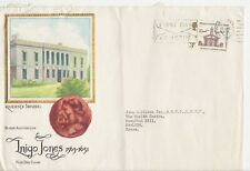 GB Stamps First Day Cover Inigo Jones Jumbo Size Medical Advertising cover