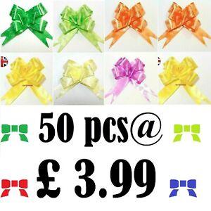 10-50 pcs 30mm Pull Bow Ribbon Wedding Birthday Christmas Gift Ribons Decoration