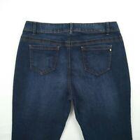 KATIES - Blue Straight Stretch Denim Jeans Women's Size 16 W33.5 - #00061949