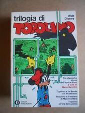Triologia di TOPOLINO - Walt Disney  Oscar Mondadori 1973 [G403]
