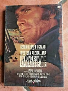 UN UOMO CHIAMATO APOCA.. SERGIO LEONE I GRANDI WESTERN ALL'ITALIANA - DVD NUOVO