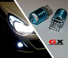 VAUXHALL CORSA D ASTRA GTC -WHITE CREE LED DRL BULBS/ SIDELIGHT DAY TIME RUNNING