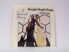 "A TASTE OF HONEY ""BOOGIE OOGIE OOGIE / WORLD SPIN"" 45/wPS NEAR MINT"