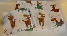 Zara Home Rudolph and Reindeer's Print Duvet Cover and Pillow Case Single Bed