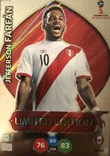 Panini Adrenalyn XL FIFA World Cup Russia 2018 Jefferson Farfán Limited Edition