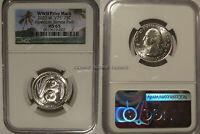 2020 W American Samoa Quarter 25c NGC MS 65  Privy Mark V75 Bat Coin