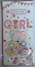 A New Baby Girl - 3D Gift Wallet For Money Store Cards Gift Vouchers