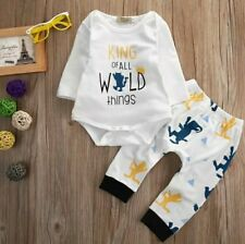 2PCS Set newborn baby boy clothing set
