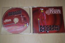 DjKun - Reggae Reggae. PR03316 CD-SINGLE PROMO