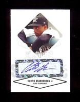 CURTIS GRANDERSON Dodgers - Certified Baseball Rookie Card AUTOGRAPH RC xx/825