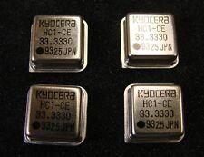 Kyocera Crystal Oscillator 33.333MHz KHO-HC1-CE33.3330, DIP-8, Qty.4
