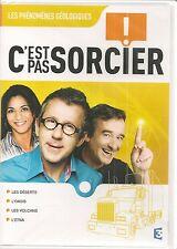 """DVD """"C'est pas sorcier : LES PHENOMENES GEOLOGIQUES"""" neuf sous blister"""