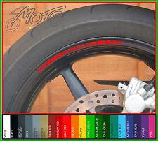 8 x HONDA Wheel Rim Stickers Decals - fireblade cbr vfr 600 1000 cb1000r cb f