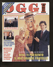 OGGI 13/1996 DARIO FO FRANCA RAME TOY STORY DISNEY ANTONACCI JOAQUIN CORTES