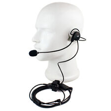 1 Pin Earpiece Mic Finger PTT Headset for Motorola 2-WAY Radio T6200 T5600 MH370