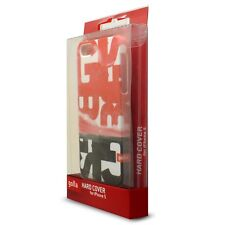 Coque Housse Extra Fine Pour iPhone 5/5S/SE Collection Steve Blister Rouge