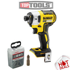 Dewalt DCF887 18V Brushless Impact Driver With Bosch PZ2 25mm Bits 25 Piece