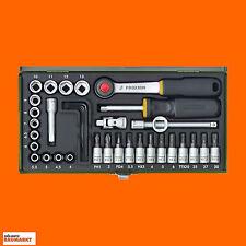Proxxon Steckschlüsselsatz 1/4(36-teilig) Steckschlüssel Knarren Nuss Kasten