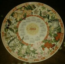 Exclusive Wedgwood 2004 Calendar Plate - New Mint Condition + Original Box