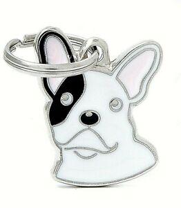 French Bulldog Dog ID Tag (24) - Engraved FREE - Personalised Identity - Charm