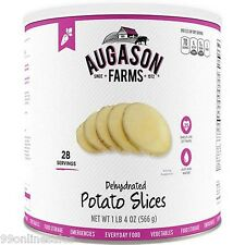 Augason Farms Emergency Disaster Survival Camping Food Dehydrated Potato Slices