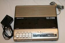 Sanyo TAS 3100 Touch Remote Answering System Untested