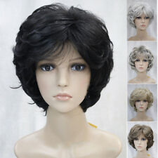 Fashion Full wigs Women Natural Curly Hair Charm ladies short wigs+ wig cap