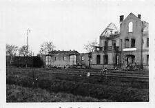 Zerstörte Bahnhof in Kruschwitz / Kruszwica Polen