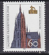 Germany 1586 MNH 1989 Frankfurt Cathedral - 750th Anniversary Issue Very Fine