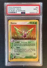 Pokemon Card PSA 9 Dustox Holo - Ex Ruby & Sapphire #6/109 Mint