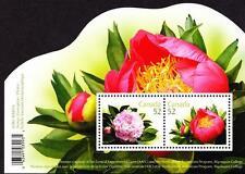 Canada MNH 2008 souvenir sheet sc# 2260 Peonies