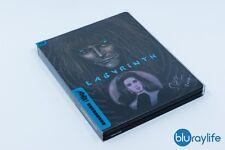 Labryrinth Blu-ray Zavvi Exclusive Mondo X SteelBook - Todd Slater Signed Rare