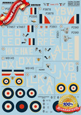 Print Scale 72-065 Wet Decal for Hurricane MK I Aces, The Battle of Britain 1/72