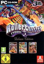 PC juego de ordenador *** RollerCoaster Tycoon 3 Deluxe * Roller Coaster ** nuevo * New