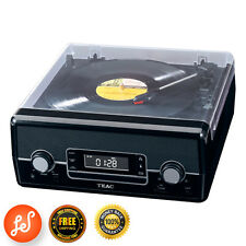 Hi-Fi Turntable Speaker Stereo System 3 Speed CDs, AM/FM radio & MP3 TEAC