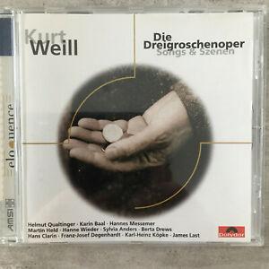 WEILL: Dreigroschenoper - Qualtinger / Baal - Last (CD Polydor 543 563-2 / neu)