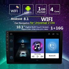 Quad-Core Android 8.1 Stereo Radio GPS Wifi MP5 LTE BT DAB OBD 1+16G New
