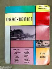 Vintage 1959 Morgan Wightman St. Louis Chicago Catalog 159 Windsor Staley Ads