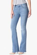 """NWT 7 FOR ALL MANKIND """"A"""" POCKET FLARE IN PALISADES BLUE 26"""