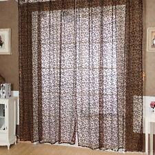 Schlaufenschal Vorhang Gardine Gardinenschal Dekoschal Muster 100x200cm M15590