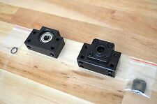 NEW Set of BK12 & BF12 Ballscrew Fixed & Floated End Support Blocks 12mm ID -CNC