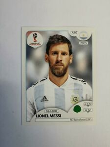 Panini Russia 2018 Lionel Messi #276 (Argentina) Mint