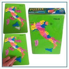 puzzle in gomma eva per bambini ragazzi italia giochi didattici 6 7 8 9 10 anni