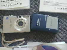 Canon PowerShot Digital SD600 Digital  Camera + Charger + Battery