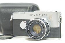 Olympus Pen F 35mm SLR Film Camera SN254088 w/F.Zuiko Auto-S 38mm F/1.8 Lens