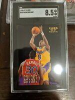 1996-97 Fleer #203 Kobe Bryant Lakers RC Rookie HOF SGC 8.5 NM-MT+ PSA/BGS Comps