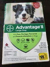 Bayer Advantage Ii Large Dog 21-55 .lbs Flea Prevention & Treatment 6 Dose